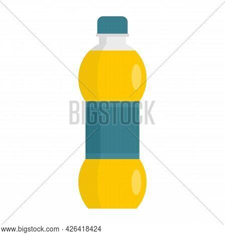Soda Energy Drink Icon. Flat Illustration Of Soda Energy Drink Vector Icon Isolated On White Backgro