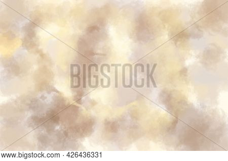 Background Gray Brown Yellow Imitation Marble Pattern