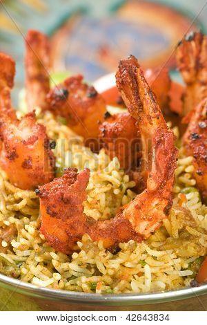 Indian food, Bhuna Prawn, Bhoona