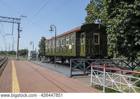 Train Station Museum Kozlova Zaseka In Yasnaya Polyana - The Last Train Station Of Famous Writer Leo