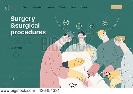 Medical Reports Application - Medical Insurance Illustration. Modern Flat Vector