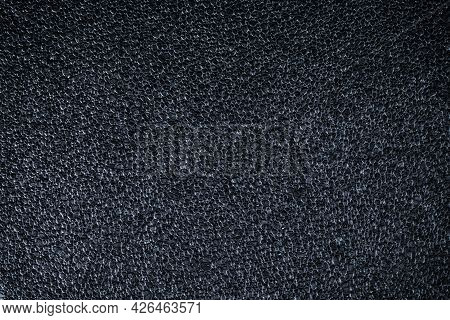 Styrofoam Texture. Grey Polystyrene Pattern Or White Plastic Styrofoam Foam. Gray Material On Wall F