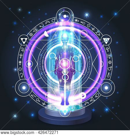 Esoteric Mystical Portal, Movement Of The Astral Body In Space