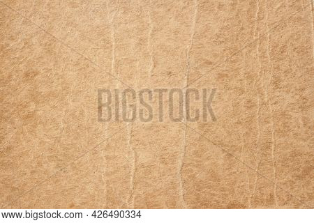 Texture Of Old Paper With Dirt Stains, Spots, Ibrown Cardboard Texture Background, Vintage Backgroun