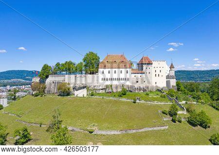 Lenzburg castle near Zurich, Switzerland