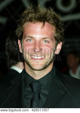 LOS ANGELES - MAR 16: Bradley Cooper arrives to ABC's 50th Anniversary Celebration on March 16, 2003 in Hollywood, CA