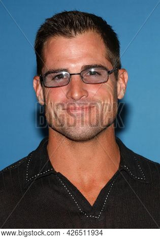 LOS ANGELES - JUN 20: George Eads arrives to  TCA Summer Press Tour 2003-CBS Party on June 20, 2003 in Hollywood, CA
