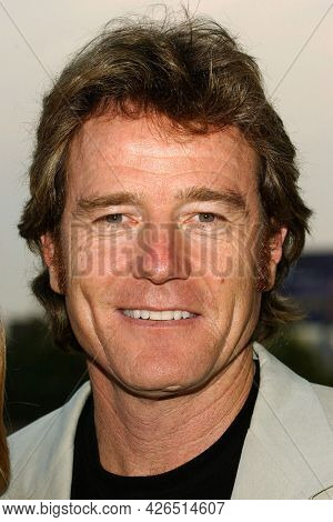 LOS ANGELES - JUL 18: Brian Cranston arrives to  the 2003 TCA Summer Press Tour - FOX Party on July 18, 2003 in West Hollywood, CA