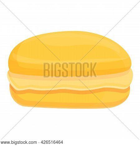 Macaroon Icon Cartoon Vector. French Dessert. Sweer Macaron Cake