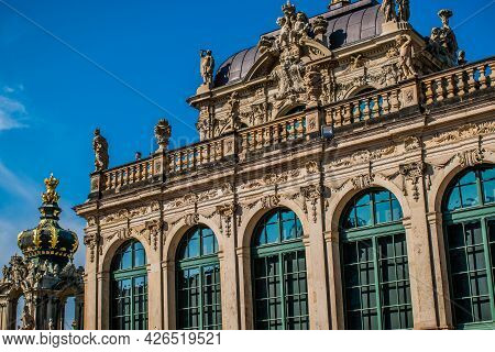 17 May 2019 Dresden, Germany -  The Mathematics And Physics Salon (mathematisch-physikalischer Salon