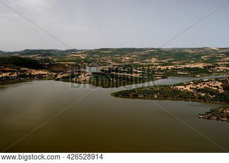 View Of The Lake Alto Temo, Monteleone Rocca Doria