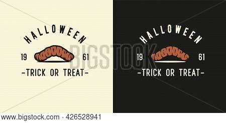 Disgusting Maggot Or Worm For Halloween Print