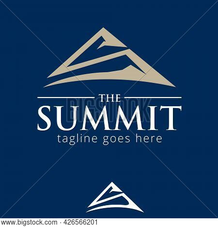 S Letter Based The Summit Symbol Vector Concept For Brand, Identity, Design Element Or Any Other Pur