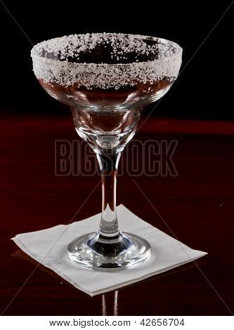 Salt Rim Margarita Glass