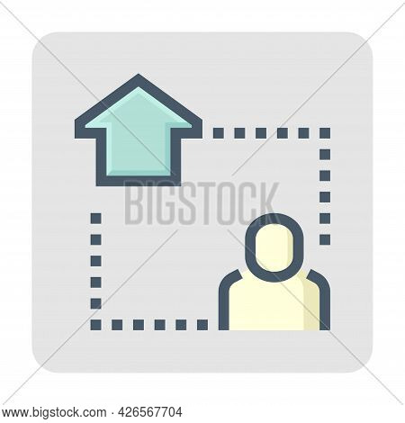 Smart Home And Internet Of Thing (iot) Vector Icon. Digital Technology To Connected, Control, Monito