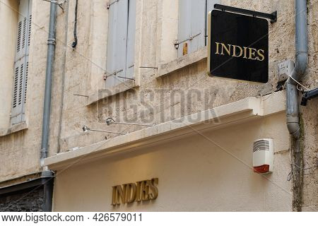Bordeaux , Aquitaine France - 07 07 2021 : Indies Logo And Sign Text Of Brand Store Clothing Boutiqu