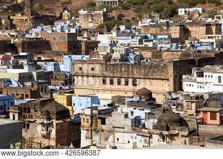 Bundi Town Cityscape Beautiful View, Rajasthan, India