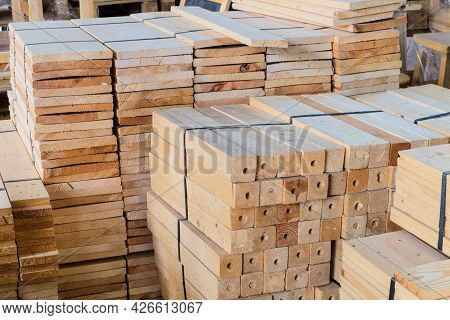 Industry Wood Processing (chamcha Wood) Material In Warehouse Store For Use On Make A Furniture For