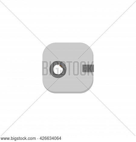 Safe Clipart. Safe Isolated Simple Vector Clipart