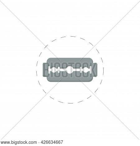 Blade Razor Clipart. Razor Isolated Simple Vector Clipart