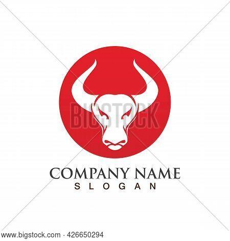 Bull Horn Devil  Logo Vector  Image