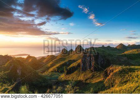 Osmena Peak Famous Rock Formation On Cebu Island In The Philippines