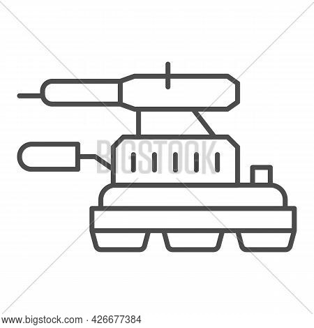 Grinding Machine Thin Line Icon, Construction Tools Concept, Angle Grinder Vector Sign On White Back