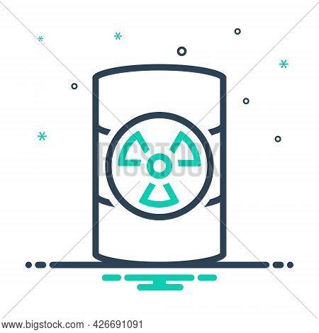 Mix Icon For Hazardous-waste Hazardous Waste Dangerous Perilous Parlous Emergency