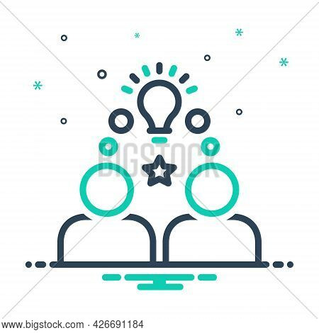 Mix Icon For Onboarding Integration Infographic Integration Employee Workforce Idea
