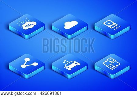 Set Data Exchange With Hhd, Co2 Emissions In Cloud, Car Sharing, Share, Music Streaming Service And