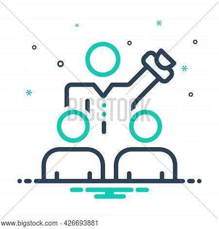 Mix Icon For Persuade Coax Commemorate Expostulate Negotiation Conversation Discussion Agreement Deb