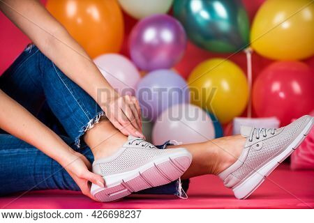 Be In Style. Pair Of Footwear. Happy Birthday. Shoe Care. Black Friday Shopping.