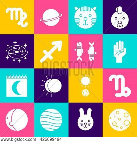 Set Moon, Capricorn Zodiac, Palmistry Of The Hand, Tiger, Sagittarius, Milky Way Spiral Galaxy, Virg