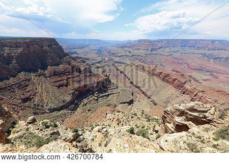 South Rim In Grand Canyon National Park. Arizona. Usa