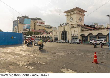 Ho Chi Minh, Vietnam - Oct 17, 2019 : Cho Ben Thanh Or Ben Thanh Market In Ho Chi Minh City, Vietnam