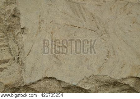 Background Of Uneven Stone Slab, Beige. Wall, Beige, Stone Slab, Background, Texture