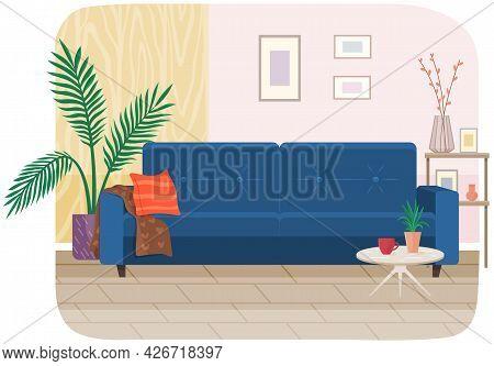 Living Room Furniture Design, Modern Home Interior Elements. Contemporary Furniture For Living Room