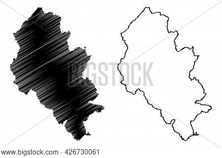 Lahn-dill District (federal Republic Of Germany, Rural District Giessen Region, State Of Hessen, Hes