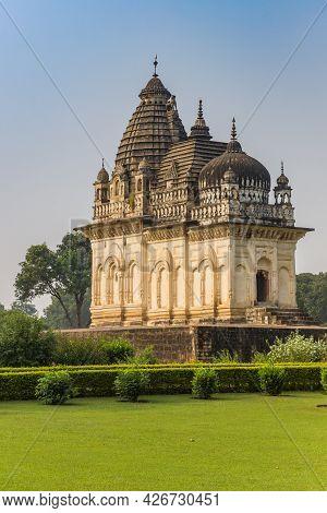 Historic Building At The Temple Complex In Khajuraho, India