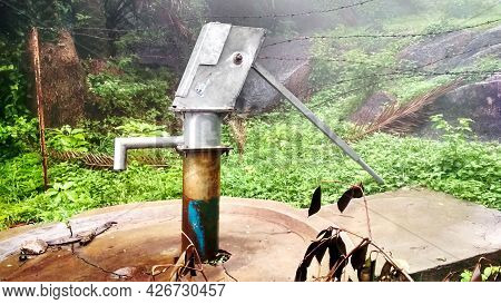 Handpump Used Especially In Rural Village. It Is Very Cheap And Best Machine To Fulfill The Domestic