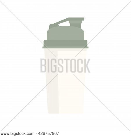 Shaker Icon. Flat Illustration Of Shaker Vector Icon Isolated On White Background