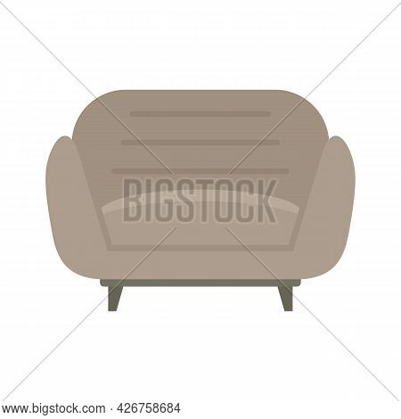 Design Armchair Icon. Flat Illustration Of Design Armchair Vector Icon Isolated On White Background