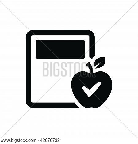 Calorie Calculator Icon. Meticulously Designed Vector Eps File.