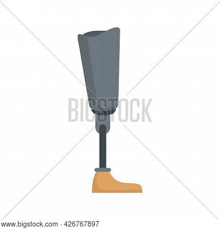 Medicine Artificial Limbs Icon. Flat Illustration Of Medicine Artificial Limbs Vector Icon Isolated