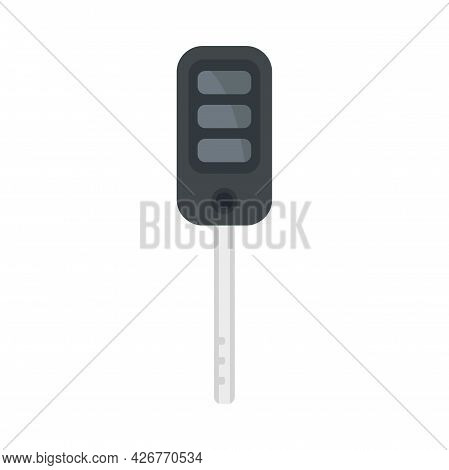 Auto Key Icon. Flat Illustration Of Auto Key Vector Icon Isolated On White Background