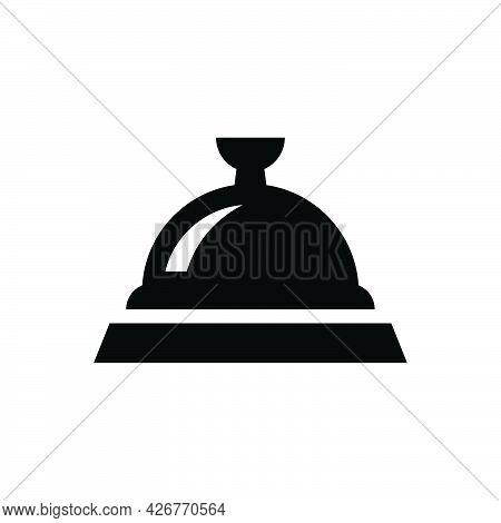 Restaurant Platter Icon. Meticulously Designed Vector Eps File.