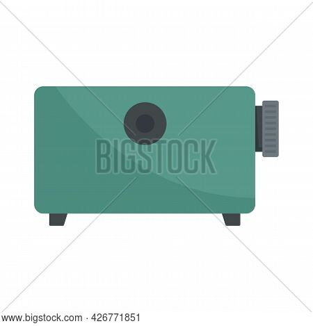 Film Projector Equipment Icon. Flat Illustration Of Film Projector Equipment Vector Icon Isolated On