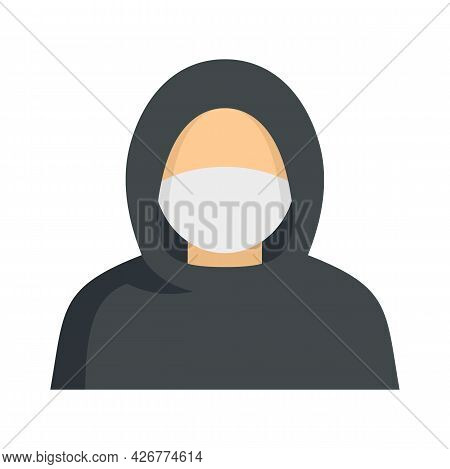 Protester Man Icon. Flat Illustration Of Protester Man Vector Icon Isolated On White Background