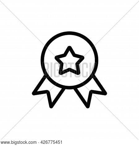 Badge Icon Isolated On White Background. Badge Icon In Trendy Design Style For Web Site And Mobile A