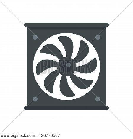 Ventilator Icon. Flat Illustration Of Ventilator Vector Icon Isolated On White Background